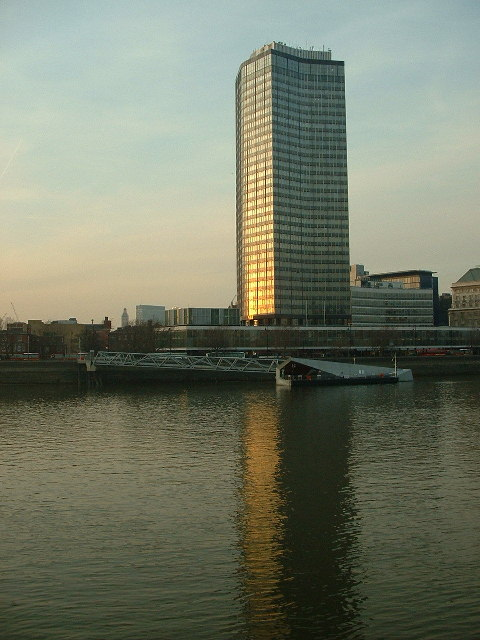Millbank Tower across the thames