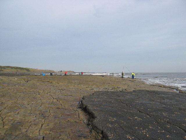 Sea Angling at Iron Scars