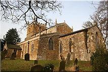 TA2303 : St.Helen's church, Barnoldby-le-Beck, Lincs. by Richard Croft