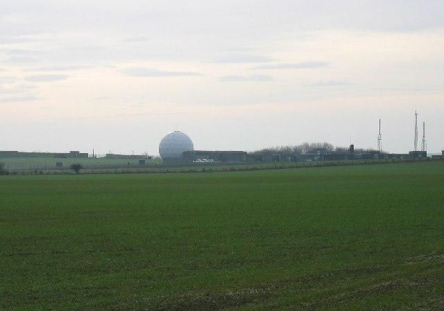 Boulmer Radar Station