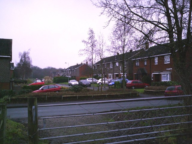 Chillington Close (looking across Streets Lane)