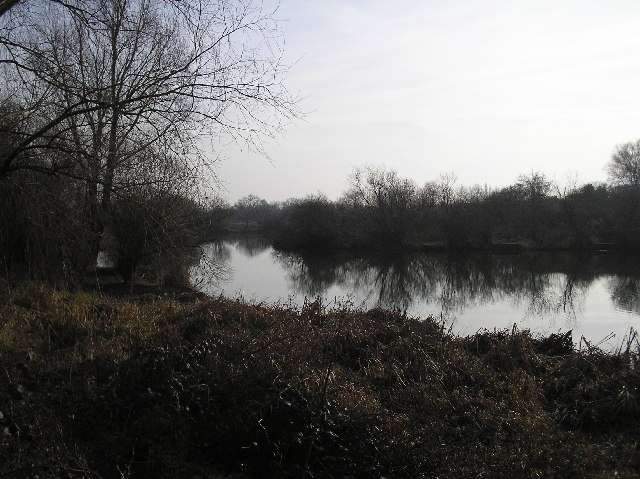 Lake on the south side of Alban Way, St Albans