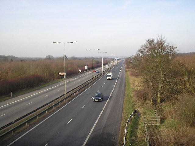 A1(M), North of Junction 2