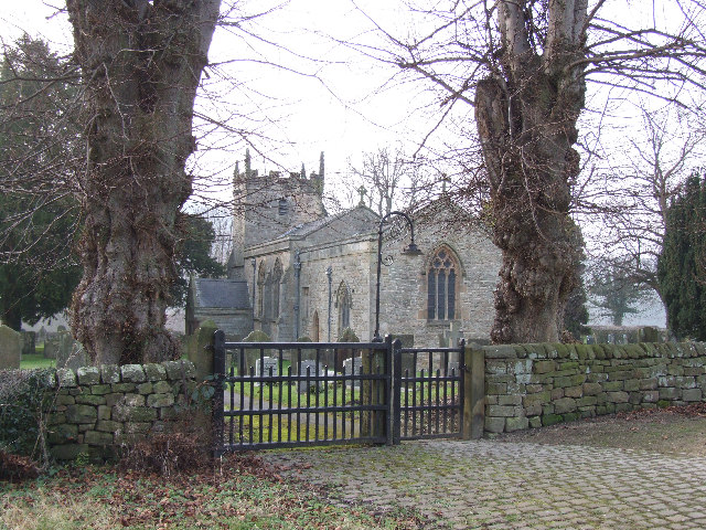 St Annes church in Beely village.