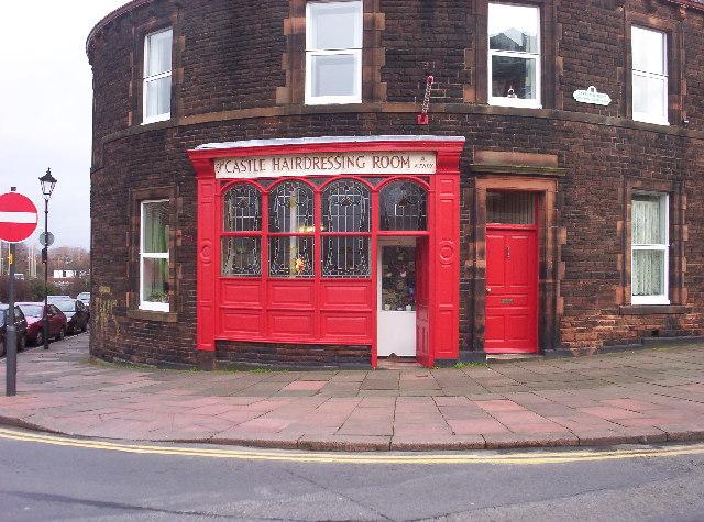 Old-School Barber Shop
