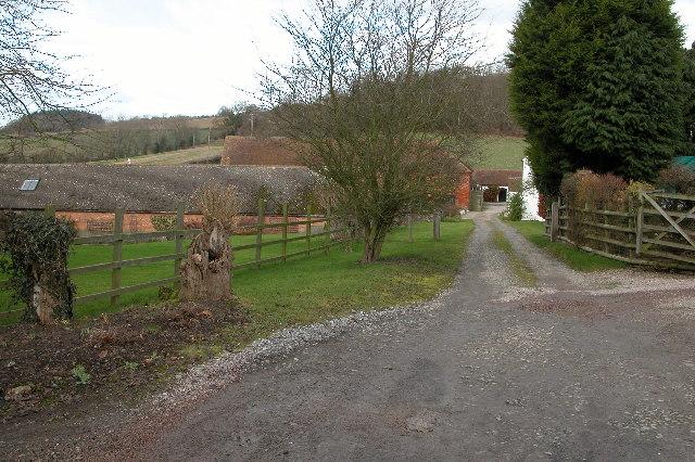 Fetterlocks Farm near Great Witley