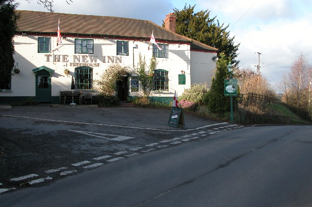 The New Inn, Shrawley