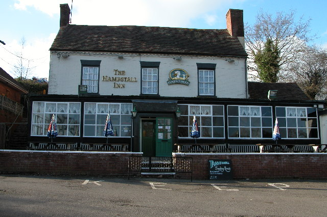 The Hampstall Inn, The Burf