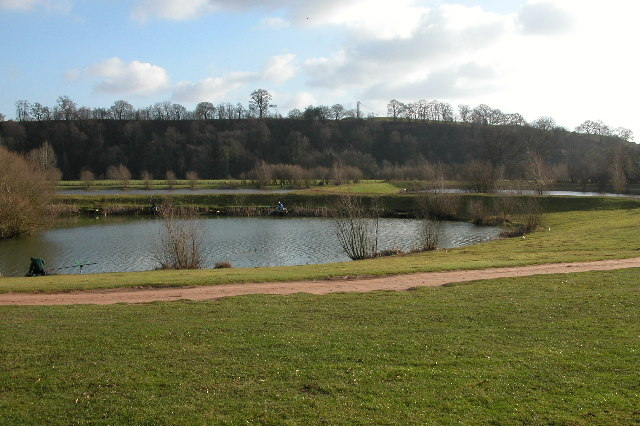 Fishing lake at Larford Farm