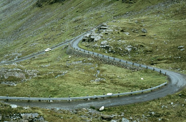 Road through Bealach na Ba