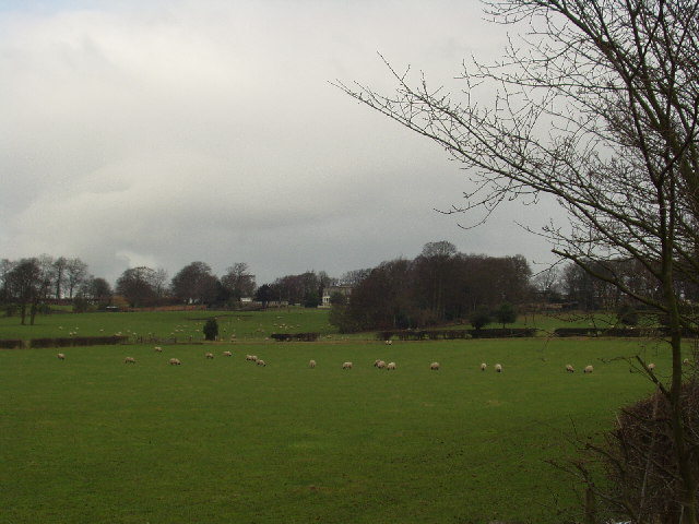 Across the fields to Shadwell Grange, Leeds