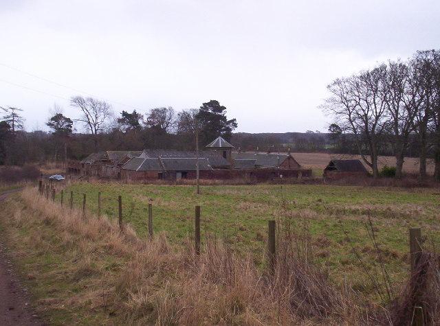 Remains of Kinblethmont Farm