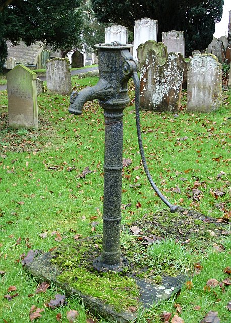 Pump in Birling churchyard