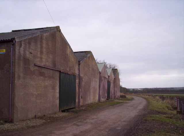 Tattie Sheds at Parkhill Farm