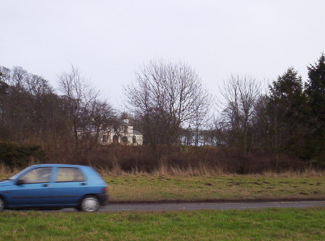 West Newton House and A92