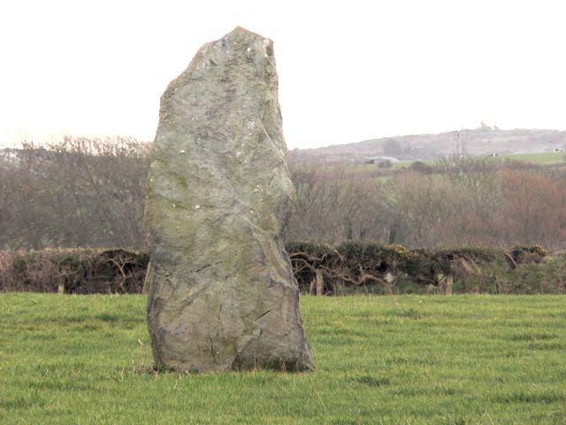 Pen Yr Orsedd, Standing Stone, Llanfairynghornwy.