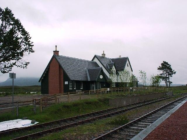 Corrour Station House, Corrour Station