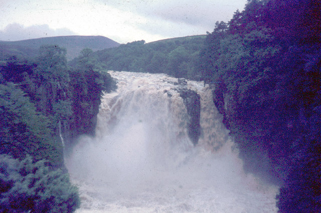 High Force after a storm