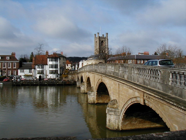 The Bridge over the Thames at Henley on Thames