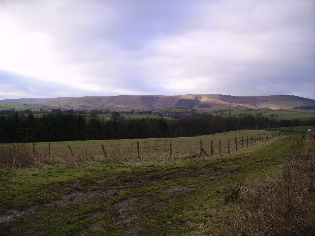 From the road to Whitewell