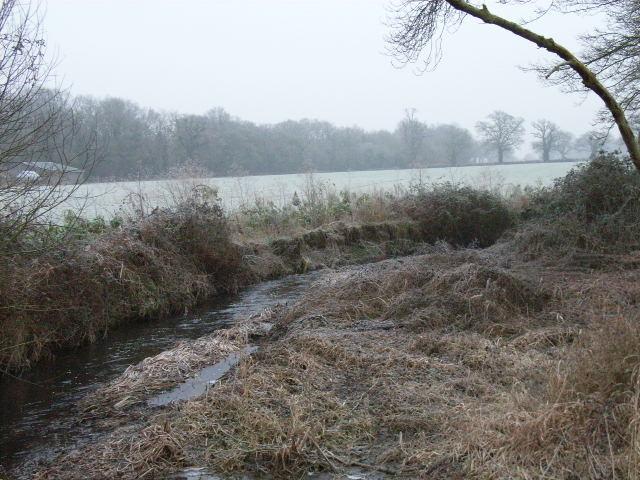 Foudry Brook and adjacent farmland