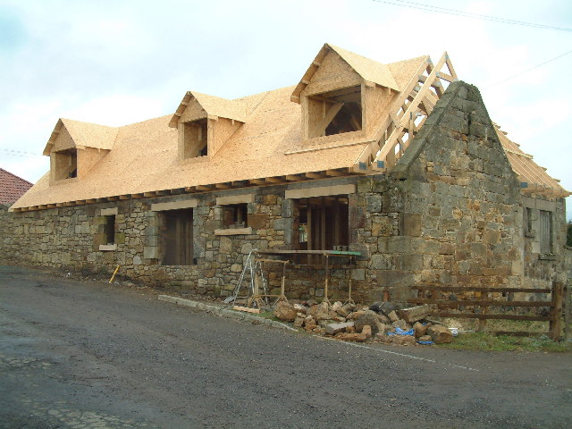 New roof on old walls
