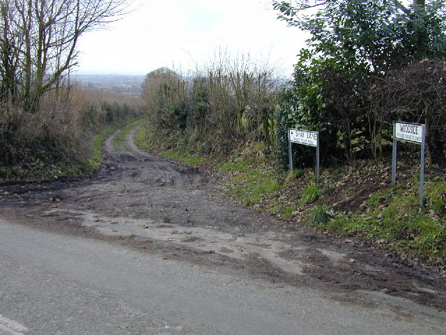 Eastern end of Shay Lane