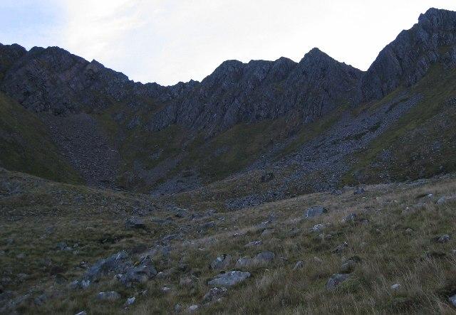 Northern Coire of Sgurr nan Saighead