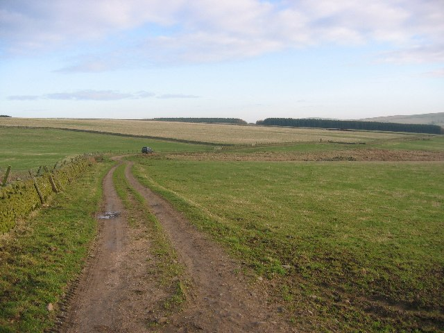 Track to Heriot Cleuch