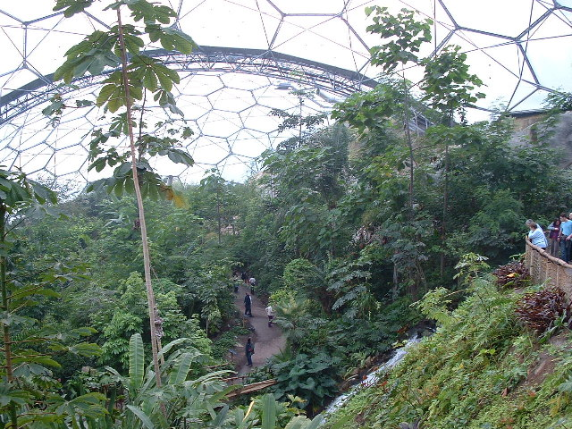 Humid Tropics Biome, Eden Project