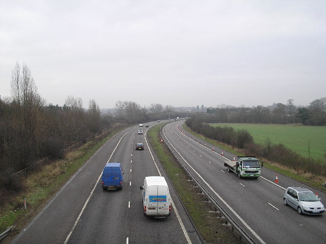 A1(M) South. North Mymms.