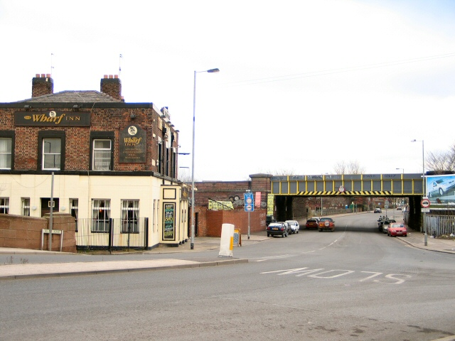 Rail Bridge over Merton Road