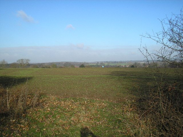 View over North Mymms.