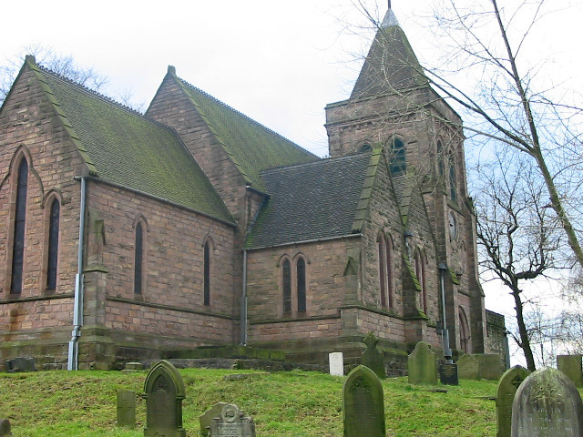 St Mary's church, Bucknall