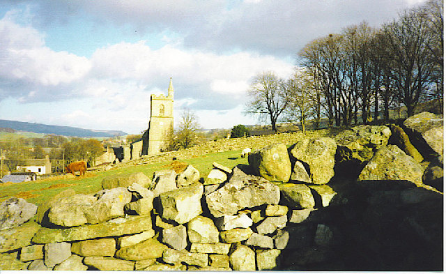 Hawes Church from the west.