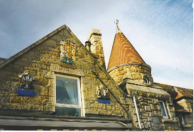 Aboyne Station Square, Scottish Baronial Architecture.