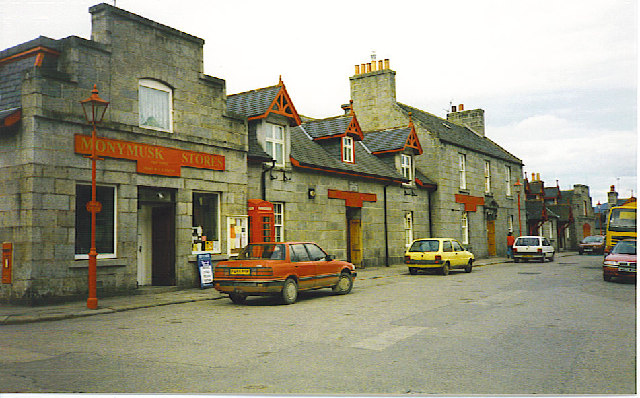 Monymusk Stores.