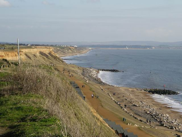 Cliffs at Barton on Sea
