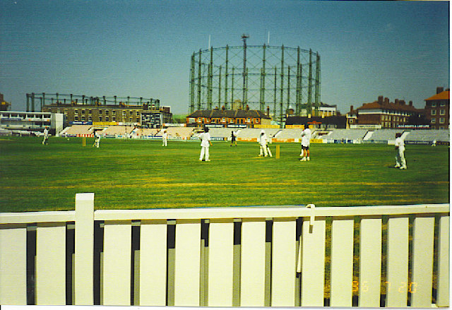 Kennington Oval and Gas Holder