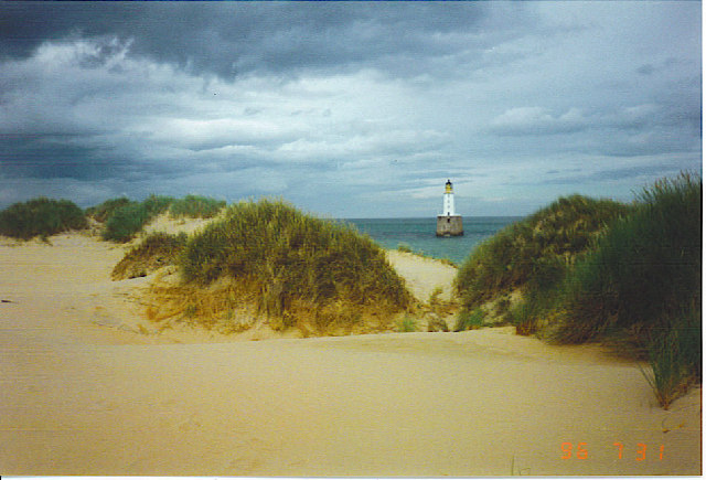 Rattray Head Lighthouse.