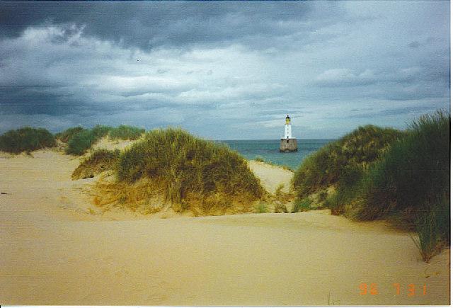 Rattray Head Lighthouse.