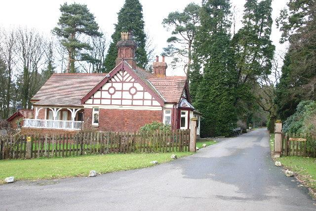 Entrance Drive to Barnacre Lodge