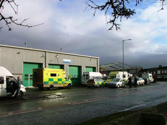 Ambulance Depot, Grangefield Road