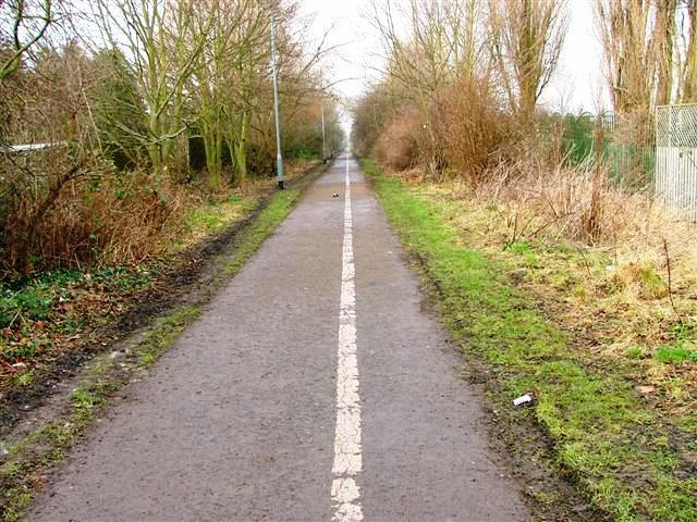 Cycleway, Oxbridge Lane
