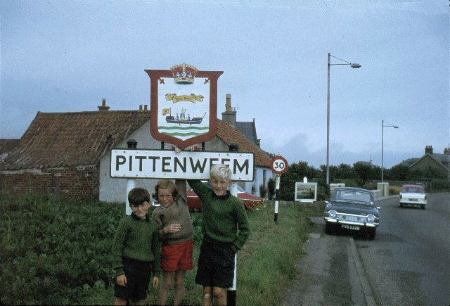 Main road into Pittenweem from the west