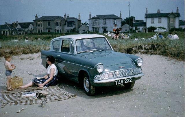 Car park on the beach
