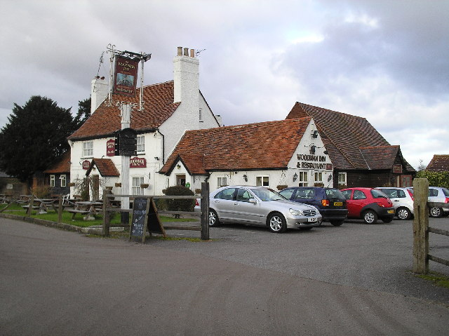 The Woodman Inn, North Mymms.