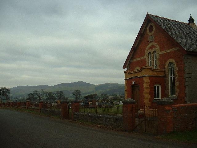 Chapel near Llanfair Dyffryn Clwyd