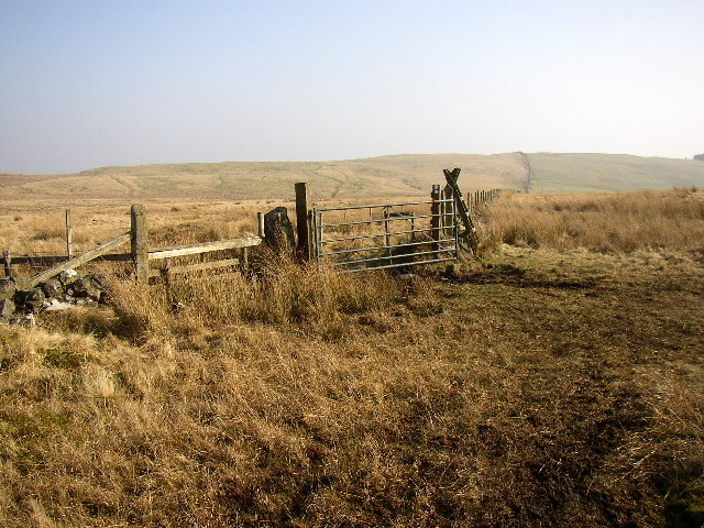 White Gate on the Salters Road