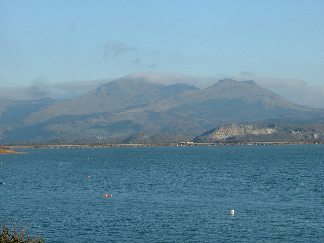 The Cob from Borth y Gest